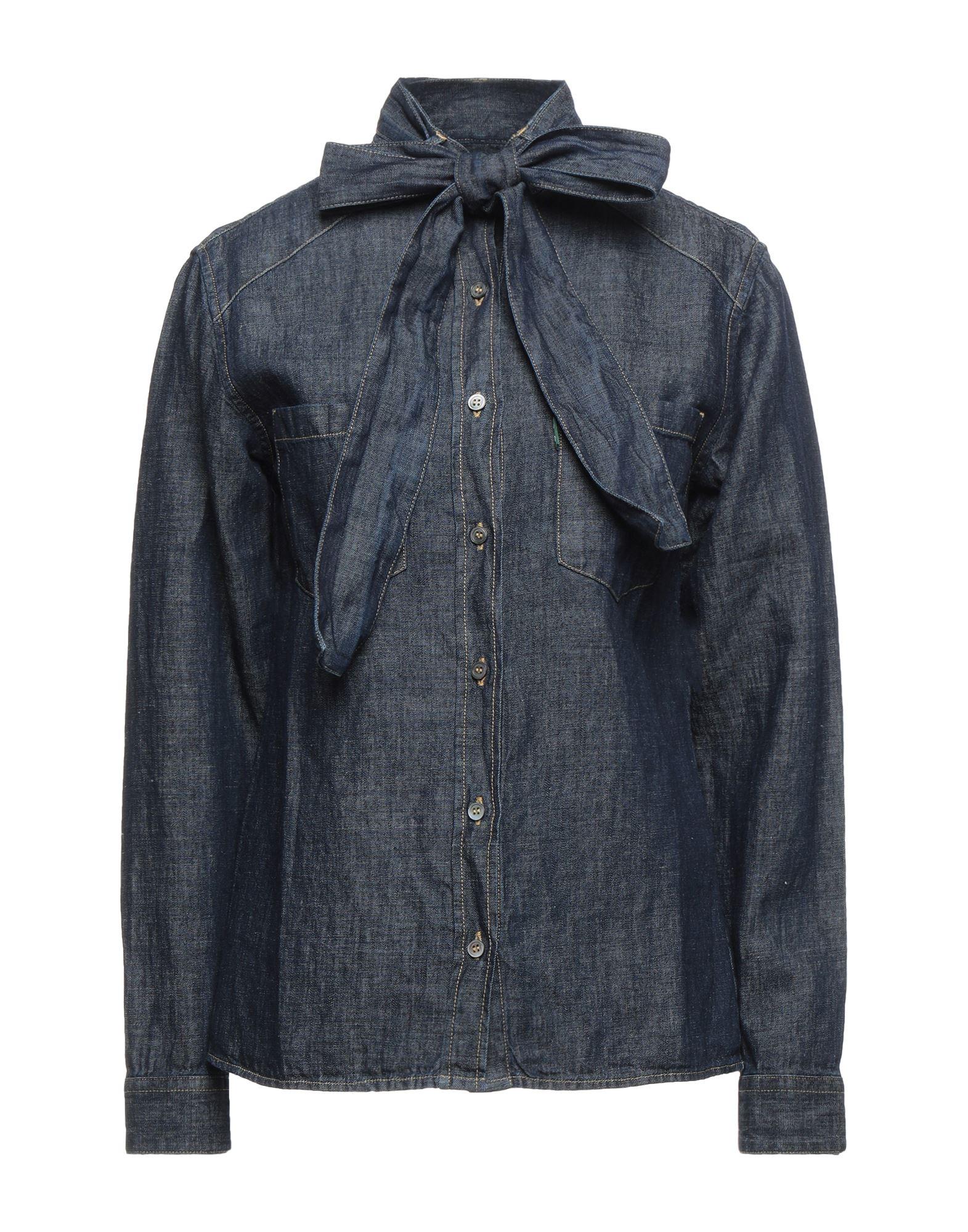 Фото - DEPARTMENT 5 Джинсовая рубашка department 5 джинсовая юбка