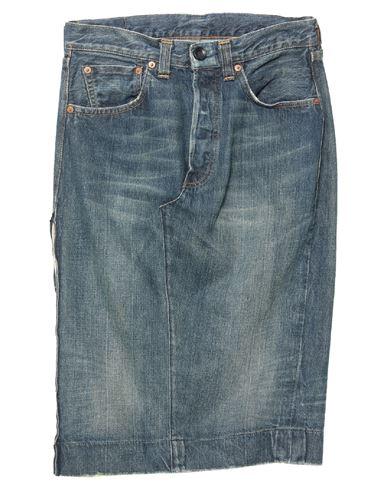 Джинсовая юбка LEVI' S. Цвет: синий