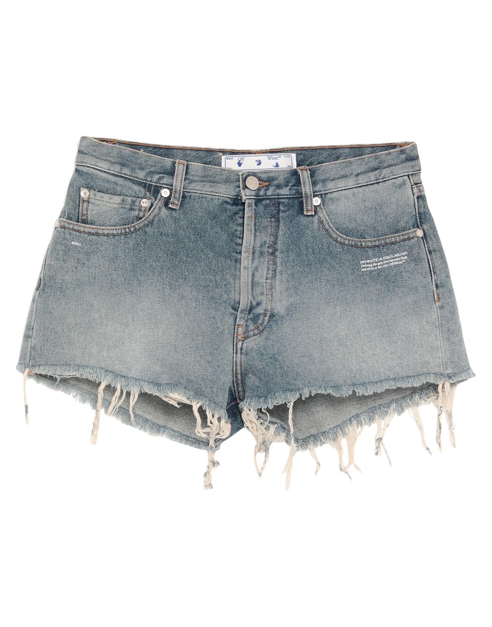 Фото - OFF-WHITE™ Джинсовые шорты please джинсовые шорты