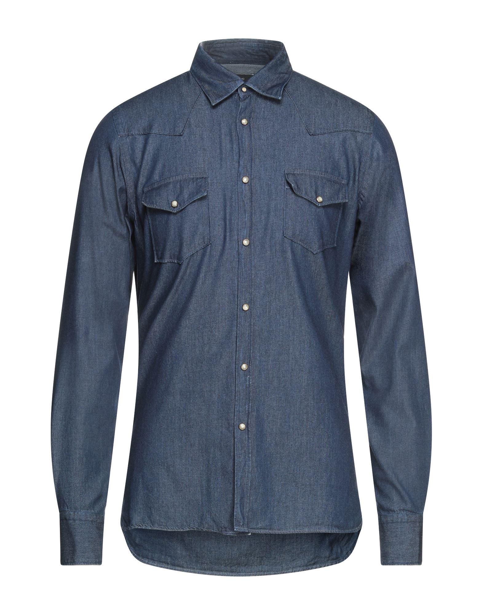 LIU •JO MAN Джинсовая рубашка фото