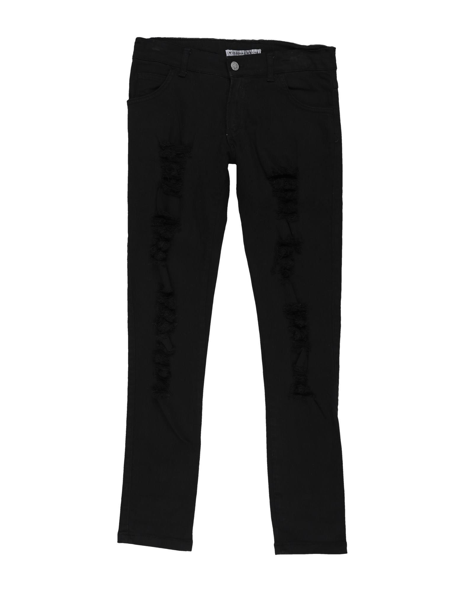 VICTORIA & STELLA Denim pants - Item 42845657