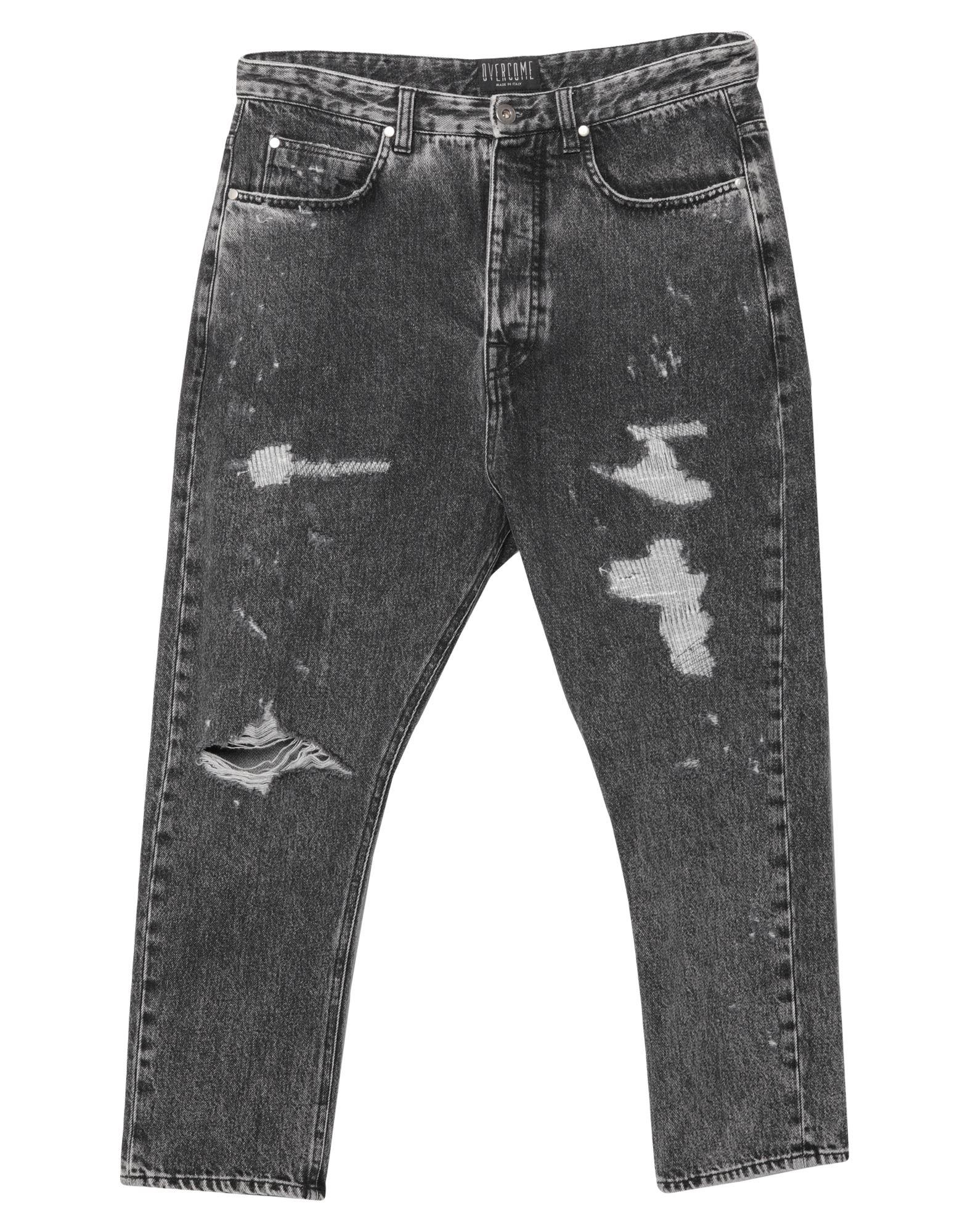 OVERCOME Джинсовые брюки-капри