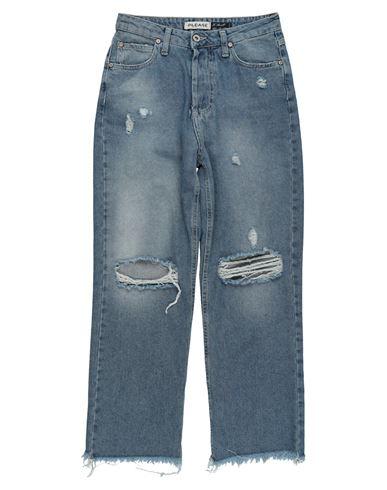 Джинсовые брюки PLEASE