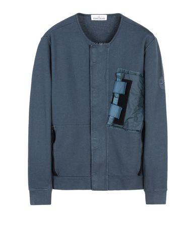 STONE ISLAND Zip sweatshirt 642S2