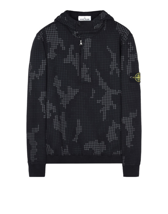 Sweatshirt 658E2 SI CHECK GRID CAMO STONE ISLAND - 0