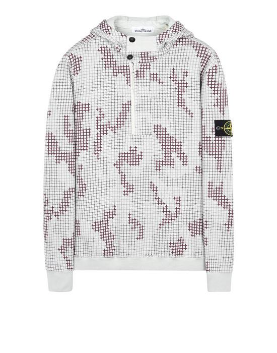 STONE ISLAND Sweatshirt 658E2 SI CHECK GRID CAMO
