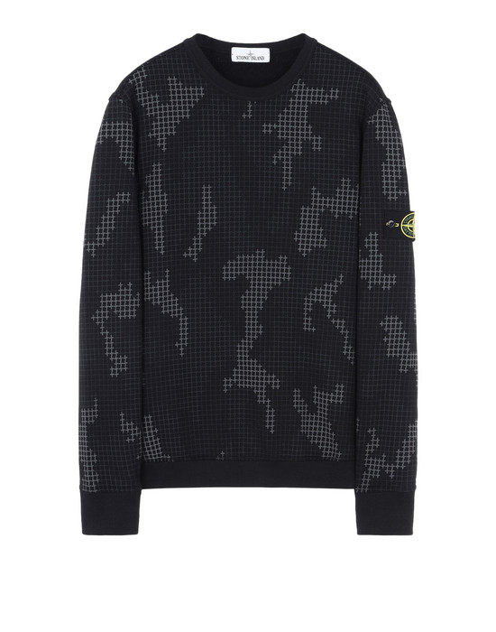 Sweatshirt 635E2 SI CHECK GRID CAMO STONE ISLAND - 0