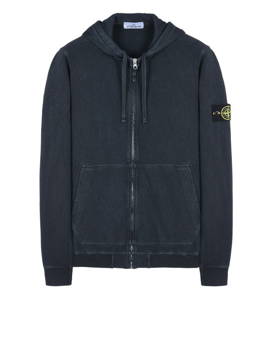 STONE ISLAND Zip sweatshirt 60861 T.CO+OLD