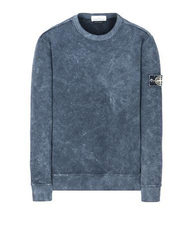STONE ISLAND Sweatshirt 62719 WHITE FROST