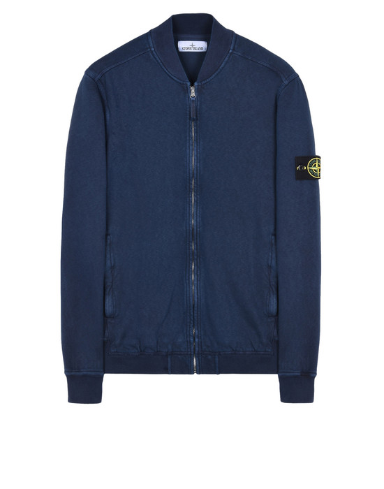 STONE ISLAND Zip sweatshirt 60961 T.CO+OLD