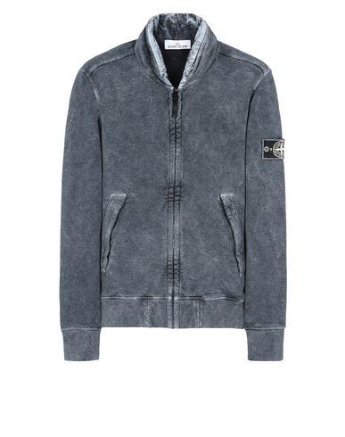 STONE ISLAND Sweatshirt 63019 WHITE FROST