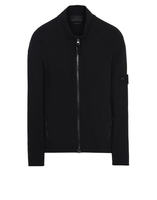 STONE ISLAND Zip sweatshirt 63840 GHOST PIECE