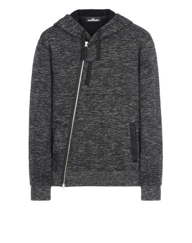 60507 TILT STORAGE HOODIE WITH DROP POCKET (MELANGE SWEATSHIRT)