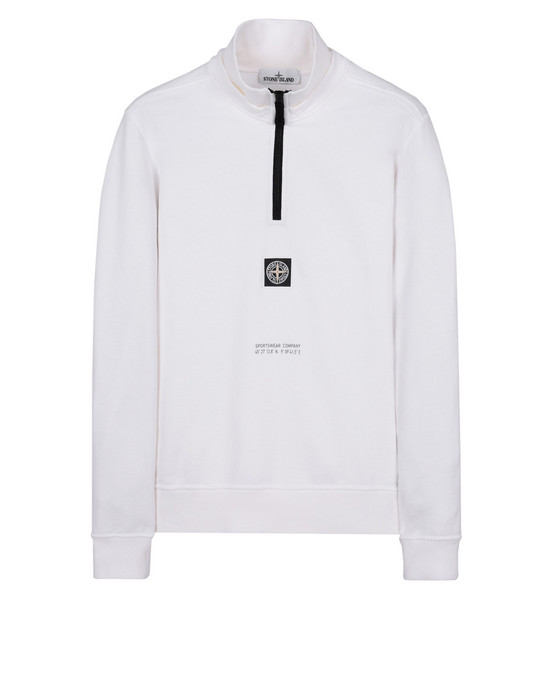 STONE ISLAND 스웻셔츠 65486 GRAPHIC SEVEN_MIXED TECHNIQUES