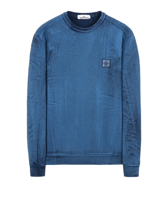 STONE ISLAND Sweatshirt 62365 HAND BRUSHED COLOR TREATMENT