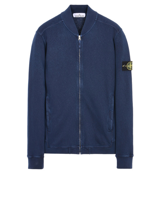 Sweatshirt mit Zipp 65160 T.CO+OLD STONE ISLAND - 0