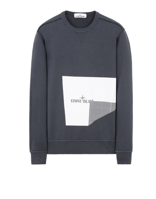 Sweatshirt 62783 GRAPHIC THREE_FOLDED STONE ISLAND - 0