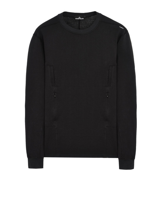 Sweatshirt 60107 FLANK POCKET CREWNECK SWEATSHIRT WITH DROP POCKETS (COTTON FLEECE) STONE ISLAND SHADOW PROJECT - 0