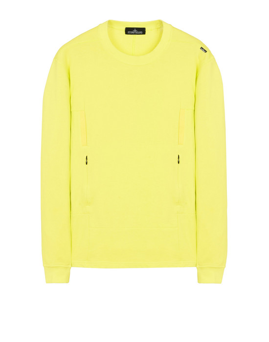 スウェット 60107 FLANK POCKET CREWNECK SWEATSHIRT WITH DROP POCKETS (COTTON FLEECE) STONE ISLAND SHADOW PROJECT - 0
