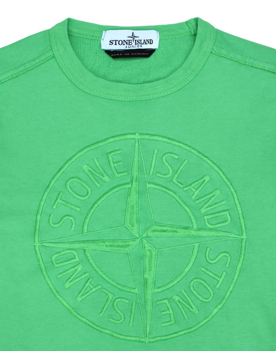 43200528gl - FLEECEWEAR STONE ISLAND JUNIOR