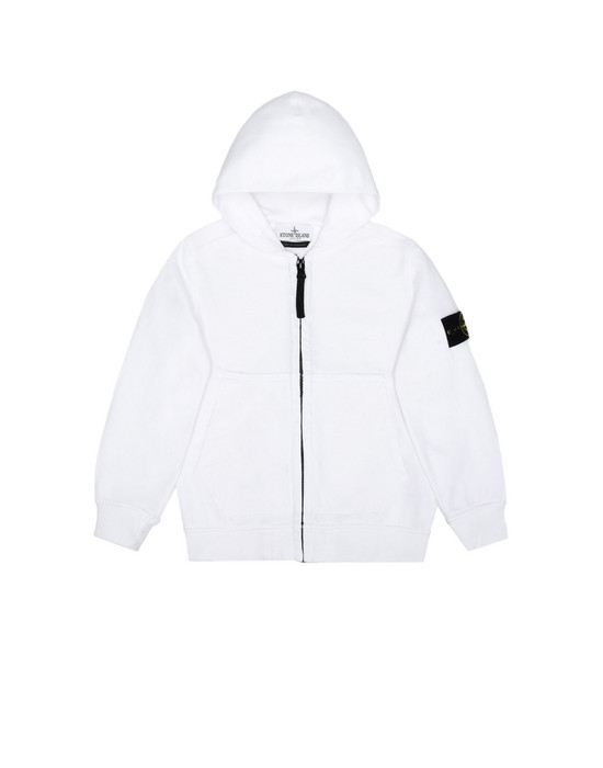 Sweat avec zip 60140 STONE ISLAND JUNIOR - 0
