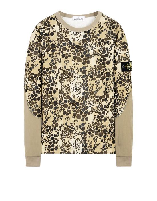 STONE ISLAND Sweatshirt 636E4 ALLIGATOR CAMO