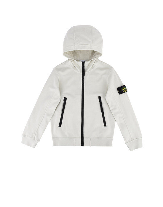 Sweat avec zip 63539 STONE ISLAND JUNIOR - 0