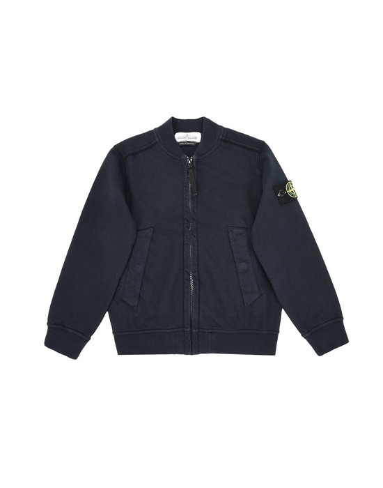 Zip sweatshirt 60240 STONE ISLAND JUNIOR - 0