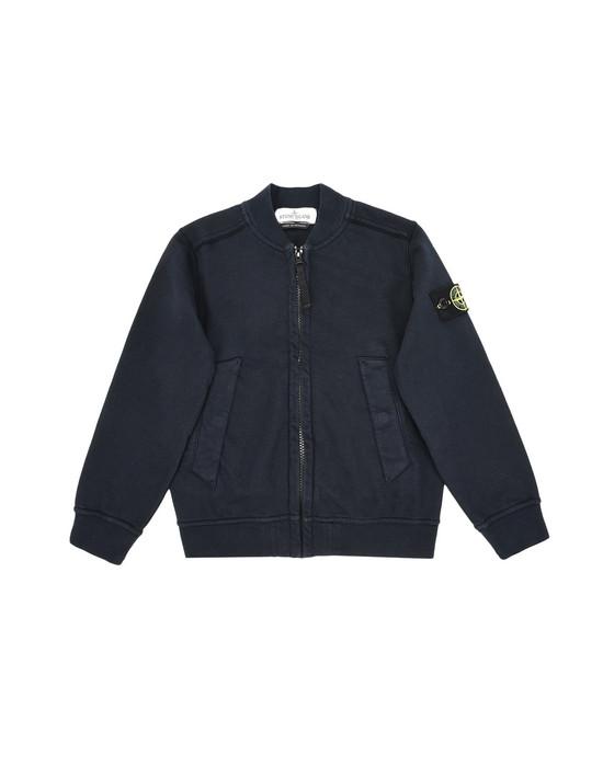 Sweatshirt mit Zipp 60240 STONE ISLAND JUNIOR - 0