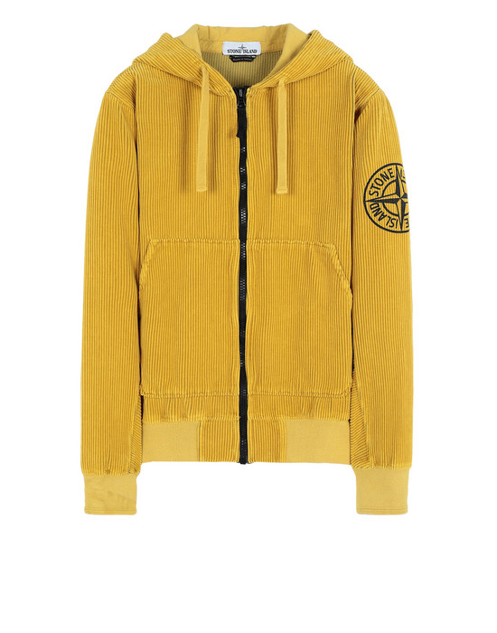 STONE ISLAND Sweatshirt mit Zipp 65939 CORDUROY