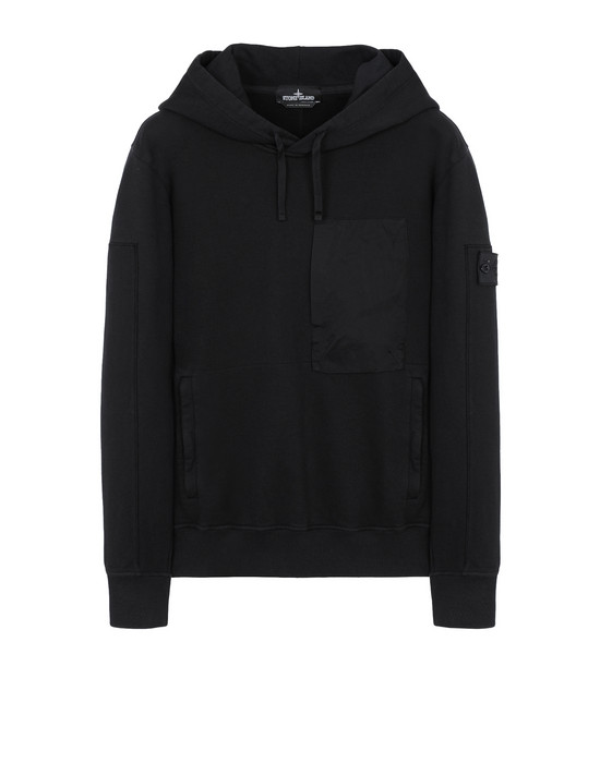 STONE ISLAND SHADOW PROJECT スウェット 60207 UTILITY HOODIE (DIAGONAL WEAVE FELPA) GARMENT DYED