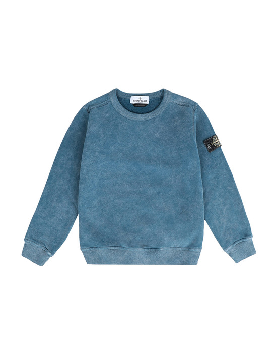 STONE ISLAND KIDS Sweatshirt 60939 DUST COLOR FROST FINISH