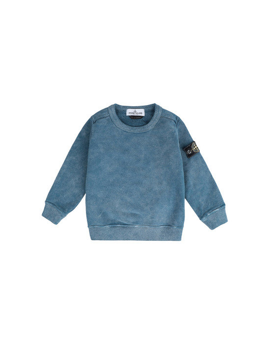 스웻셔츠 60939 DUST COLOUR FROST FINISH STONE ISLAND JUNIOR - 0