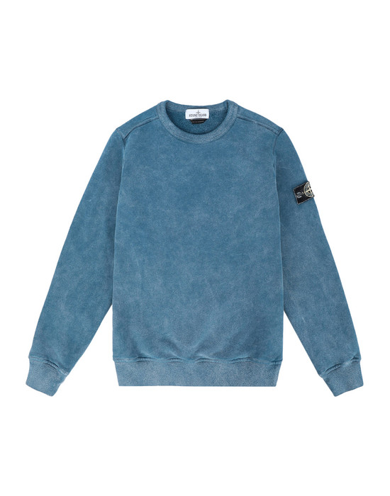STONE ISLAND JUNIOR 스웻셔츠 60939 DUST COLOUR FROST FINISH