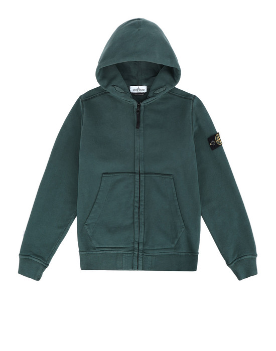 STONE ISLAND JUNIOR Felpa con zip 60640