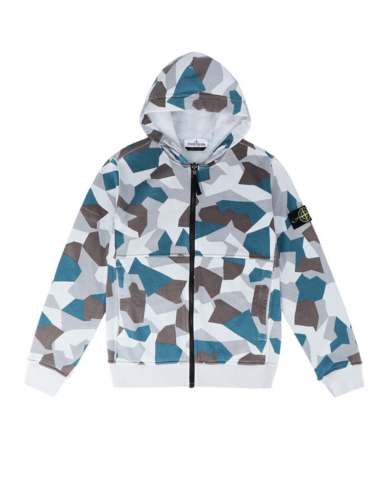 Толстовка 62006 REVERSIBLE STONE ISLAND JUNIOR - 0