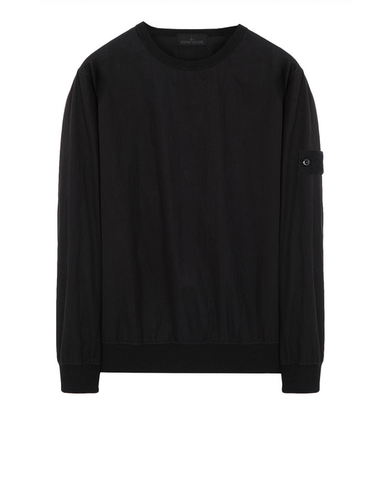 Sweatshirt 659F2 GHOST PIECE_COTTON NYLON TELA  STONE ISLAND - 0