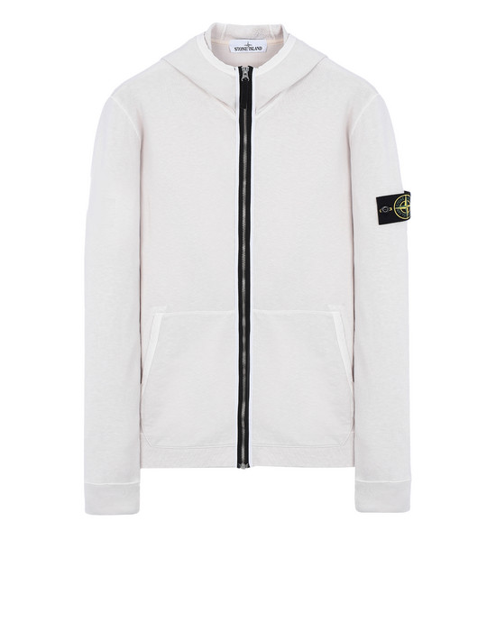 Zip sweatshirt 64160 'OLD' DYE TREATMENT STONE ISLAND - 0