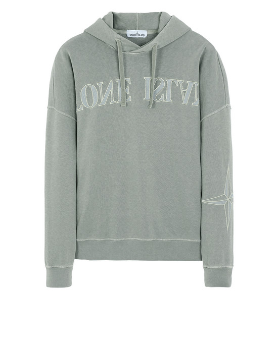Sweatshirt 61161 'OLD' DYE TREATMENT STONE ISLAND - 0