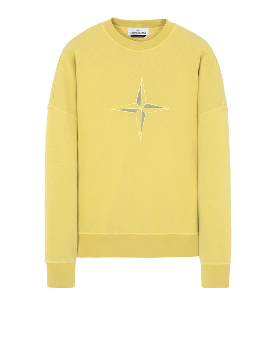 Sweatshirt 61261 'OLD' DYE TREATMENT STONE ISLAND - 0