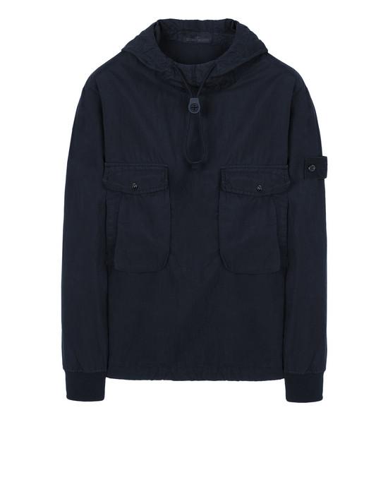 Sweatshirt 639F2 GHOST PIECE_COTTON NYLON TELA  STONE ISLAND - 0