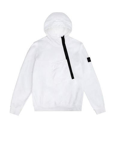 STONE ISLAND JUNIOR Zip sweatshirt Man 60140 f