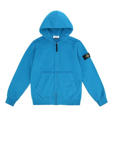 STONE ISLAND JUNIOR Zip sweatshirt Man 60940 f