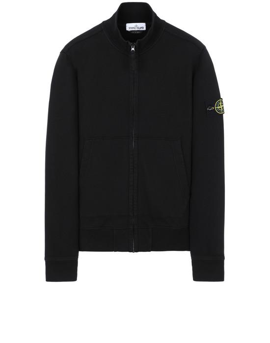 STONE ISLAND 61620 Zip sweatshirt Man Black