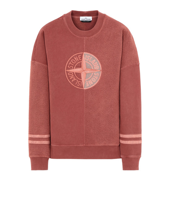 STONE ISLAND Sweatshirt 63347 'OLD' DYE TREATMENT