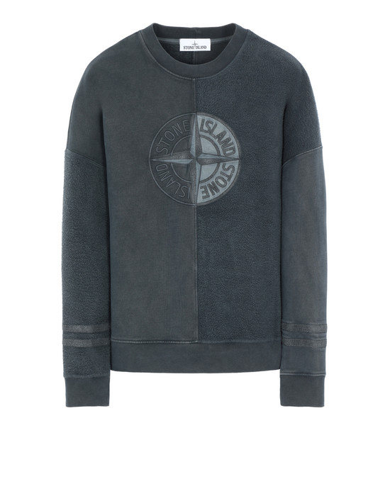 Sweatshirt 63347 'OLD' DYE TREATMENT  STONE ISLAND - 0