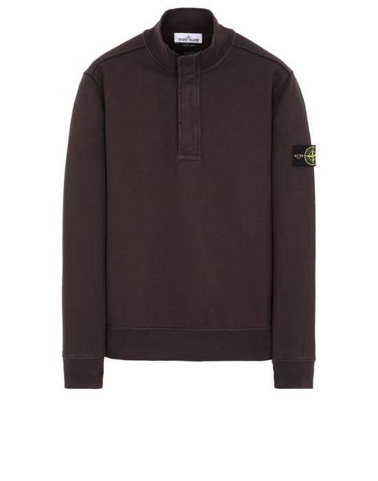 STONE ISLAND 60120 Sweatshirt Man Dark Brown