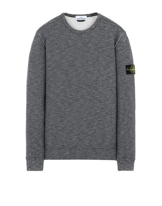 STONE ISLAND 65437 Sweatshirt Man Steel Gray