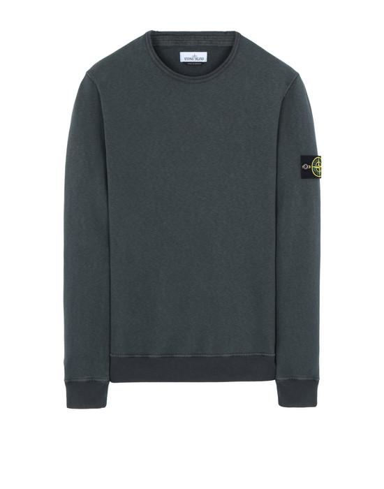 STONE ISLAND 64761 'OLD' DYE TREATMENT  Sweatshirt Man Dark Grey