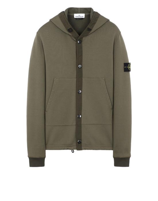 STONE ISLAND 61246 Sweatshirt Man Olive Green